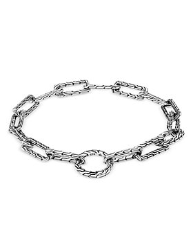 JOHN HARDY - Women's Sterling Silver Classic Chain Long Link Amulet Connector Bracelet