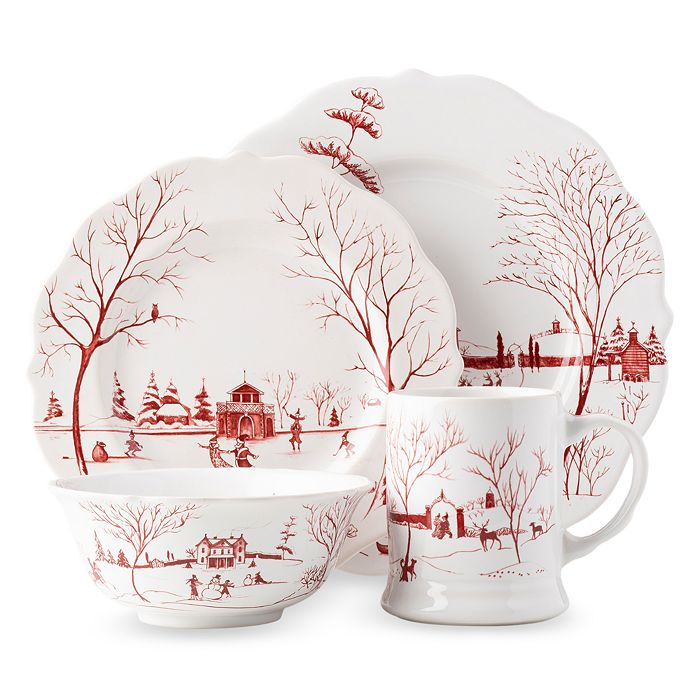 Juliska - Country Estate Winter Frolic 4 Piece Place Setting