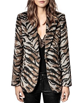Zadig & Voltaire - Venus Soft Tiger Jacket