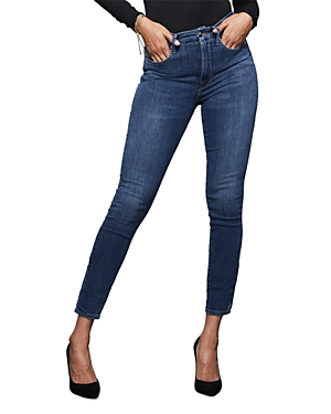 Good American Good Legs High Rise Skinny Jeans in Blue265-Women