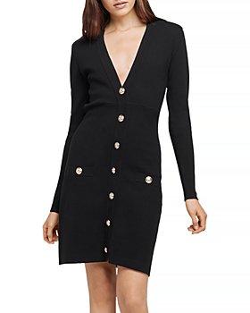 L'AGENCE - Breanna V Neck Mini Dress