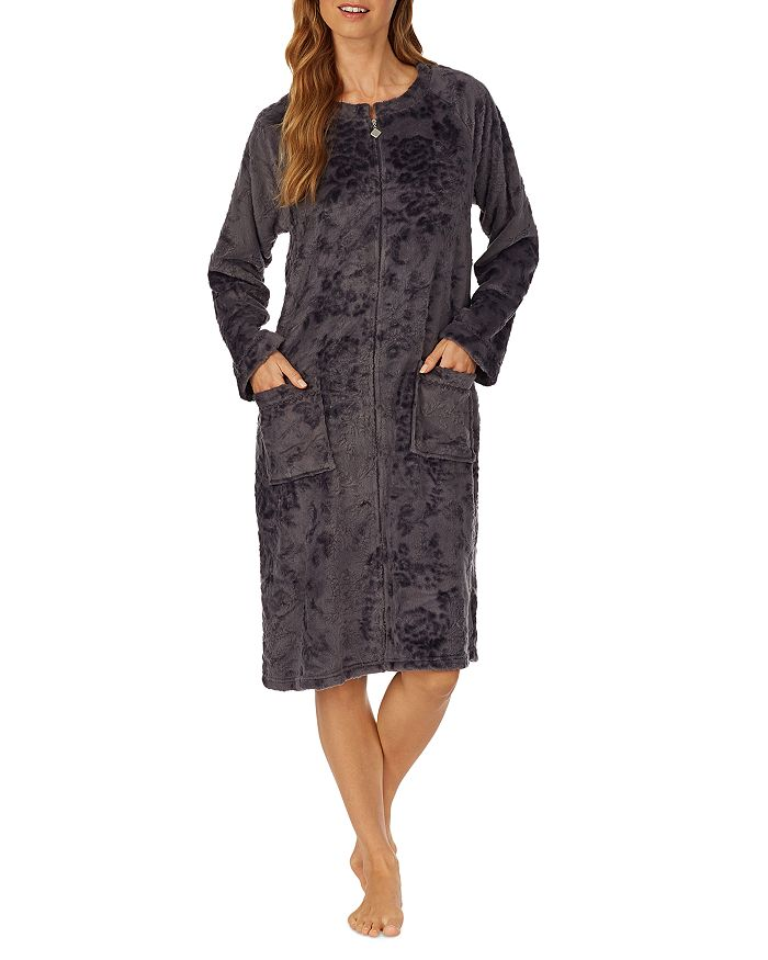 Eileen West - Floral Plush Fleece Robe