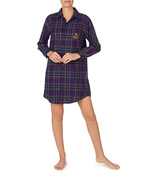 Ralph Lauren - Plaid Sleep Shirt
