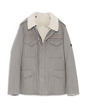 Yves Salomon - Regular Fit Shearling Lined 2 in 1 Jacket