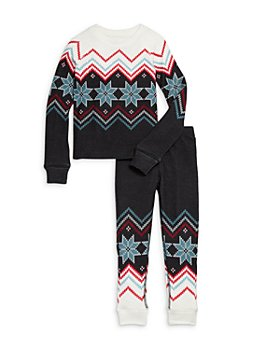 PJ Salvage - Unisex Fair Isle Print Pajama Set - Little Kid, Big Kid