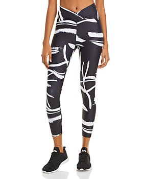 Year of Ours - Veronica Abstract Print Leggings