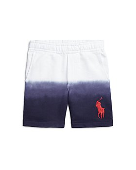 Ralph Lauren - Boys' Dip Dyed Cotton Terry Shorts - Little Kid