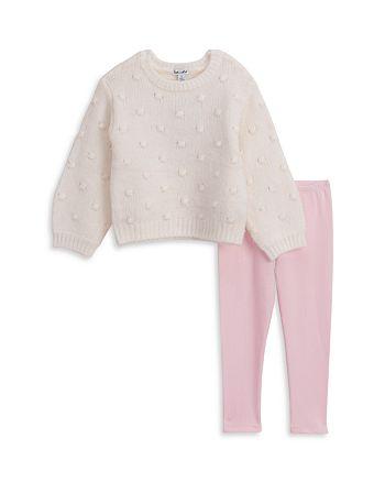 Splendid - Girls' Bubble Sweater & Leggings Set - Little Girl