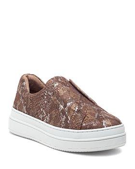 J/Slides - Women's Noel Slip On Leather Sneakers