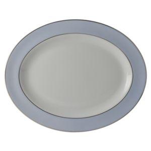 Bernardaud Dune Blue Oval Platter, 13