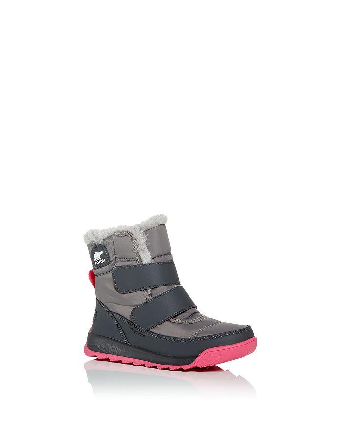 Sorel - Unisex Whitney II Faux Fur Waterproof Cold Weather Boots - Toddler, Little Kid