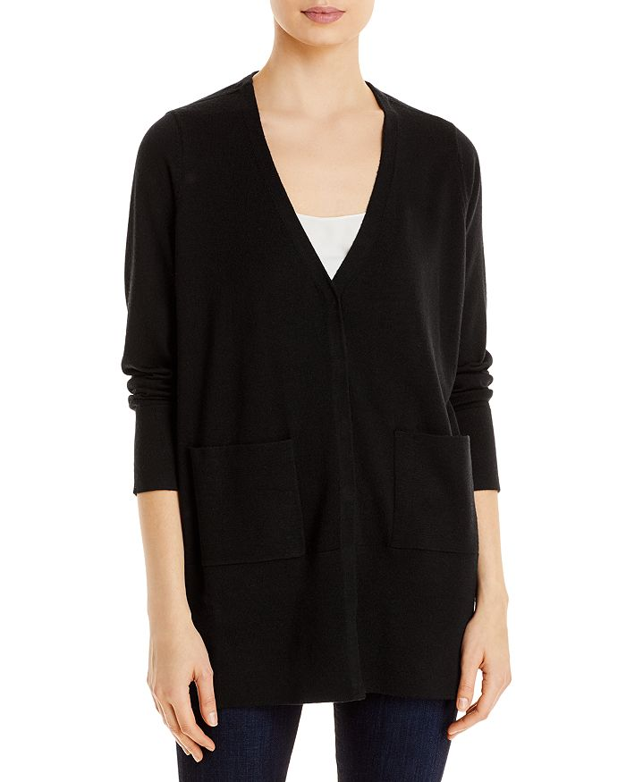 Eileen Fisher - V-Neck Snap Front Cardigan