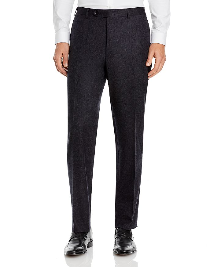 Canali - Siena Lightweight Flannel Classic Fit Dress Pants