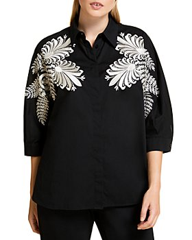 Marina Rinaldi - Balzare Embroidered Shirt