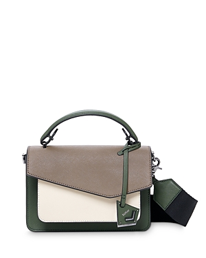 Cobble Hill Medium Leather & Suede Crossbody