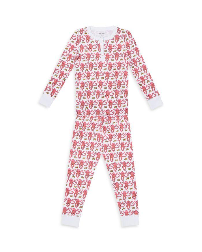 Roller Rabbit Unisex Monkey Pajama Set - Baby  | Bloomingdale's