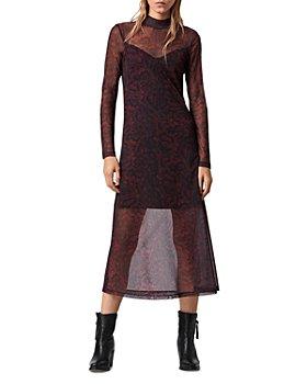 ALLSAINTS - Hanna Stanza Mesh Dress