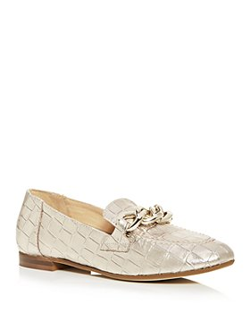 Donald Pliner - Women's Balton Croc Embossed Smoking Slippers