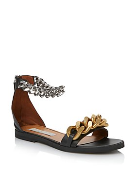 Stella McCartney - Women's Falabella Embellished Flat Sandals