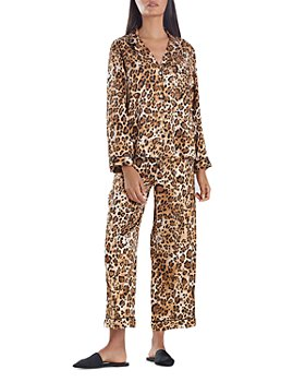 Natori - Printed Satin Pajama Set