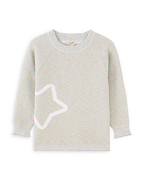 Peek Kids - Girls' Isabella Melange Sweater - Little Kid, Big Kid
