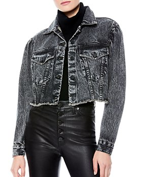 Alice and Olivia - Cutoff Denim Jacket