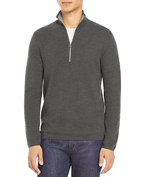Theory - Arnaud Quarter-Zip Erhart Sweater