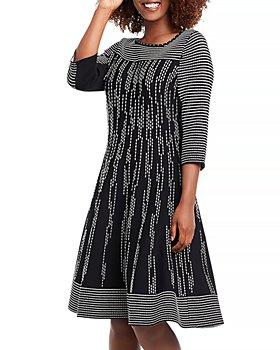 NIC and ZOE - Dashing Out Twirl Sweater Dress