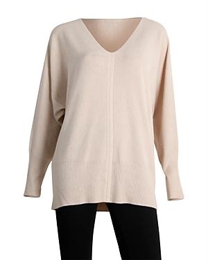 Sioni Dolman Sleeve V Neck Sweater