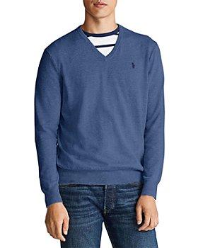 Polo Ralph Lauren - Cotton V-Neck Sweater