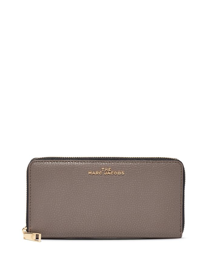 MARC JACOBS MARC JACOBS Vertical Zippy Leather Continental Wallet  | Bloomingdale's