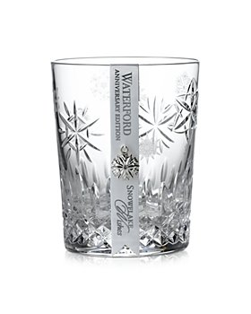 Waterford - Snowflake Wishes Love Anniversary Edition Double Old-Fashioned Glass