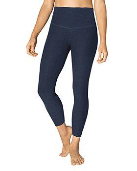 Beyond Yoga - High-Waist Midi Space-Dye Leggings