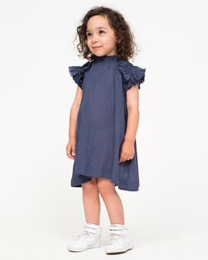 Sea Girls' Ruffle Trim Dress - Little Kid