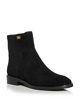 Stuart Weitzman - Women's Kye Low Heel Booties