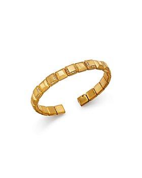 Roberto Coin - 18K Yellow Gold Diamond Bangle Bracelet