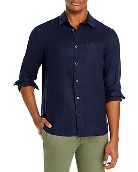 Vince - Slim Fit Linen Coastal Shirt