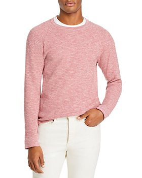 Vince - Slim Fit Mouline Thermal Crewneck Sweater