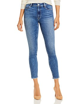 PAIGE - Hoxton Skinny Ankle Jeans in Cabbie