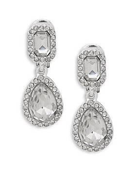 Ralph Lauren - Teardrop & Emerald Cut Drop Earrings
