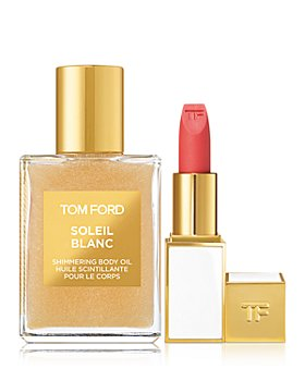 Tom Ford - Soleil Blanc Shimmering Body Oil and Paradiso Lip Color Gift Set ($101 value)