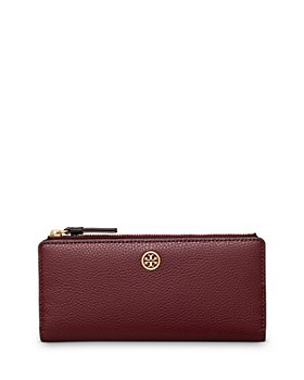 Tory Burch - Walker Leather Slim Zip Wallet