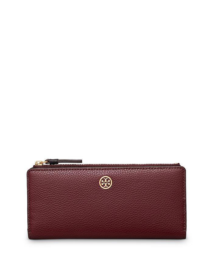 Tory Burch - Walker Leather Slim Zip Wallet