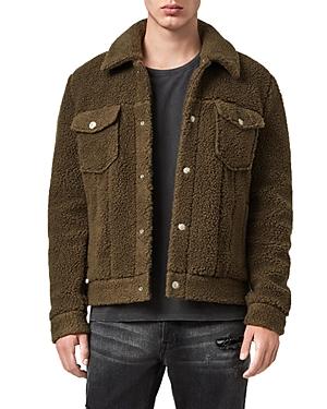 Allsaints Beven Faux Shearling Jacket