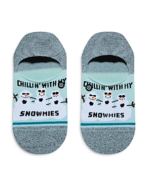 Stance Chillin\\\' With My Snowmies No-Show Socks-Women