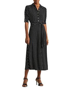 Ralph Lauren - Polka Dot Shirt Dress