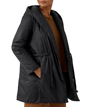 Eileen Fisher Petites - Hooded Long Coat