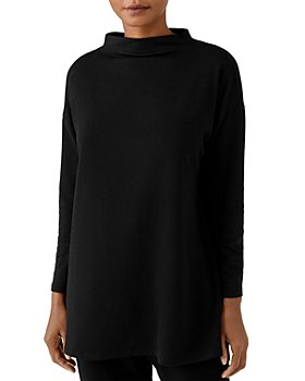 Eileen Fisher - Funnel Neck Boxy Top