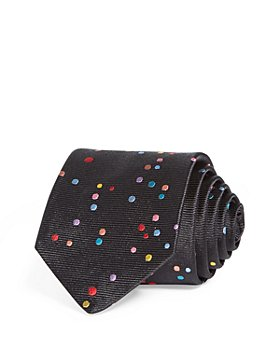 Paul Smith - Multicolor Dots Silk Skinny Tie