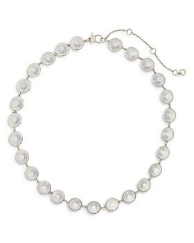 "kate spade new york - Crystal Collar Necklace, 16"""
